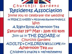 Churchill Gardens Royal Wedding Celebrations