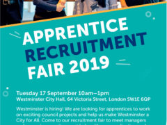 Westminster Council – Apprenticeship opportunities – all ages